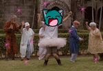 Dance Party at the Mental Hospital by AskTenebris
