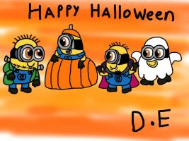 Despicable Me Halloween 2014 by Dulcechica19