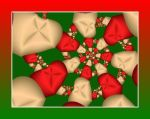 Christmas Fractal 01 by PsychoDreamer4