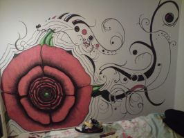 Wall painting by LiquidMC