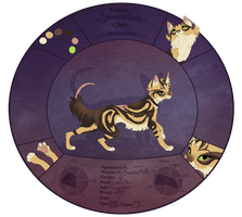 TDE- Snaketail from ShadowClan by blackunia