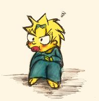 Maggie Simpson in my style by ukikochan