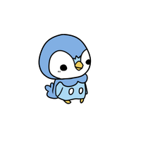 393 piplup by pinkbunnii