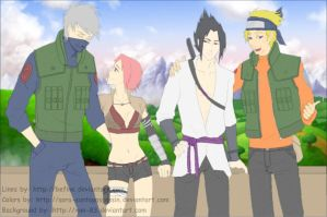 Team Seven by Sora-sanTopAssassin