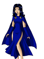 Raven Colored by cloudedjudgement