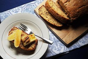 Fostered Banana Walnut Bread by courey