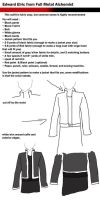 Edward Elric Tutorial by CassiniCloset