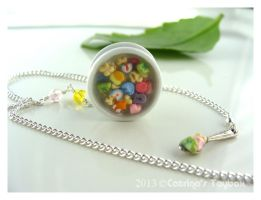 Lucky Charms Necklace Closeer by CatrinasToybox