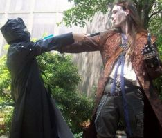 Graverobber vs. Repo Man by DevilAcolyte