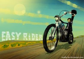 easy rider by Masha-Ko
