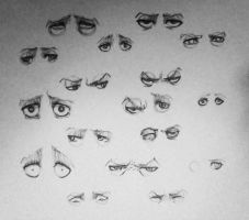 Some Eyes by Rodnekka