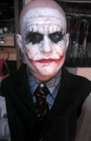 Heath Ledger As joker painted by XtcofPain