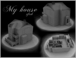 My house - model by efish