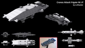 Cronos Attack Frigate - W.I.P. by Lc4Hunter
