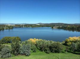 Lake Burley Griffin by kayandjay100