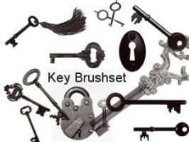 Key Brushset by Aragwen-stock