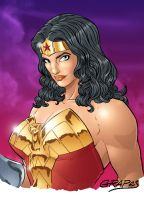 Wonder Woman Color by wjgrapes