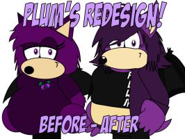 Plum's New Design by AshleyWolf259