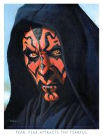 Darth Maul by imaginante