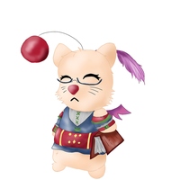 Phena Moogle by versaillesjewels