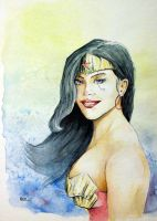 Wonder Woman Portrait by MikeKretz