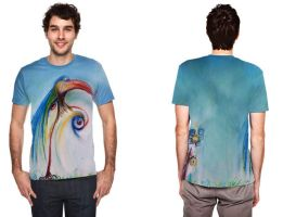 eyes of paradise T-shirt by cybergranny