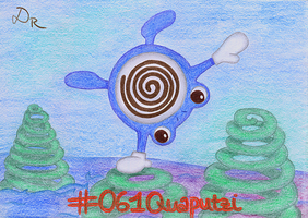 #061 Poliwhirl by DonataRosca