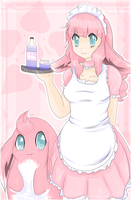 Re Wigglytuff gijinka by DeerKitten