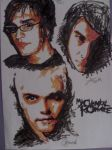 Gerard, Mikey and Frank - MCR by hypercjclark