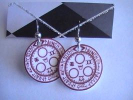 Halo of the Sun Earrings by YourRain