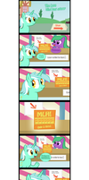 The Lyra blind bag story by Gecko-7