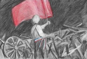 The red flag by Zuuh