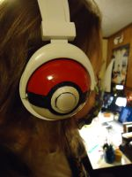 POkemon head phones by KyoOyo