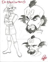 Neo Cortex (Anime Version) by Avril-TRON-LuKon
