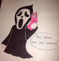 Ghostie on Phone with Michael by Criss-Angel-lover