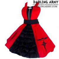 Edward Elric Fullmetal Alchemist Cosplay Pinafore by DarlingArmy