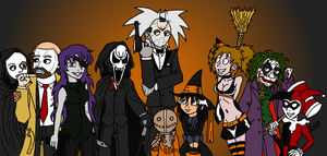 Halloween Costumes - 2012 by HH-HorrorHigh
