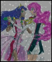 Utena and Anthy Dance by RainbowSerenity