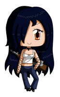 [Commission] Mini Chibi Tess by izka197