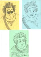 Wreck It Ralph expression practice by rainbar
