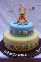Giraffe Surprise Cake by Verusca