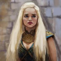 Daenerys by PolliPo