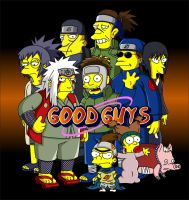 Naruto Simpsons - Good Guys by lloydvdw