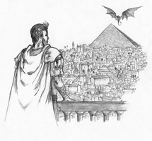 Meereen - A Dance With Dragons by pudsack