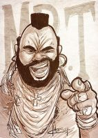 Mr. T (Sketch Dailies) by patrickianmoss