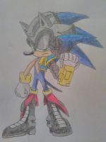 Eggman Empire sonic (commission request) by SpringtraP-MasK