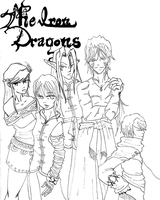 The IDs cover line art by PattyPatTCH