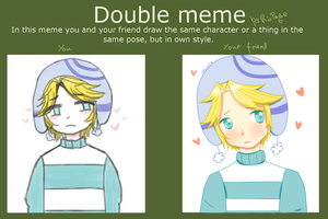 HUWHUWHUEHUEHUE DOUBLE MEME by Pelusita-Fideos