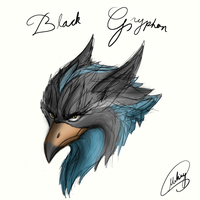Blackgryphon by xXMarkingXx