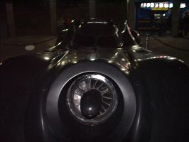 Batmobile on Six flags by keshow7